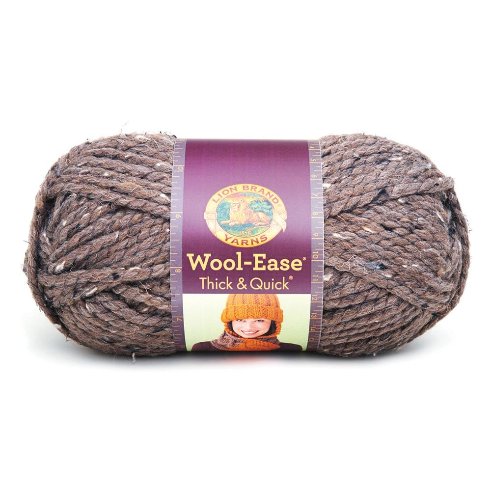 Lion Brand Wool-Ease Thick &amp; Quick Yarn (124) Barley