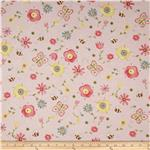 0277637 Apple Blossom Acres Flowers &amp; Bees Pink