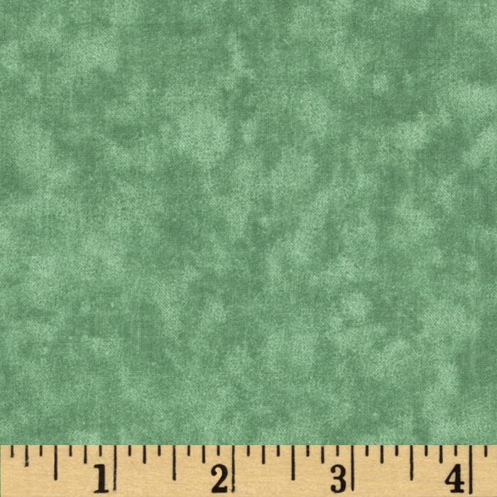 Sponged Fantasy Green