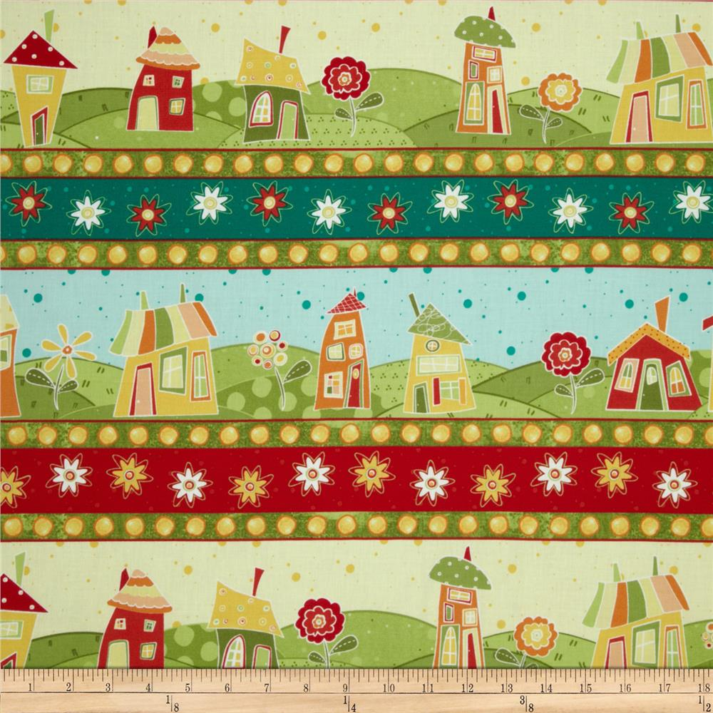 Marmalade Cottage Repeating Stripe Multi