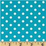 DA-013 Michael Miller Dumb Dot Teal
