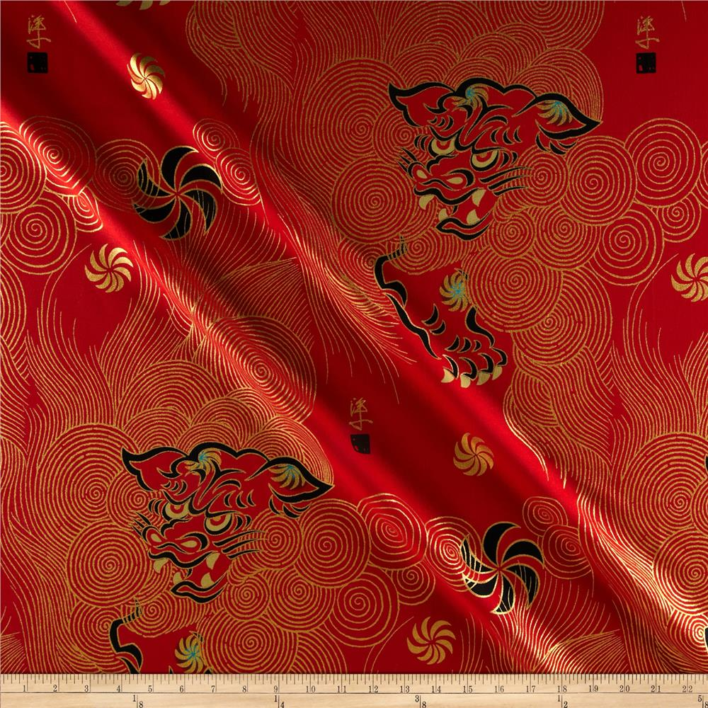 Alexander Henry Indochine Golden Shishi Red
