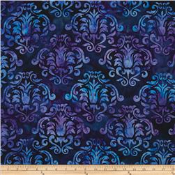 Artisan Batiks Gazebo Abstract Trellis Iris