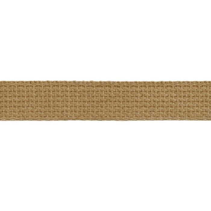 Cotton Webbing 1&#39;&#39; Tan