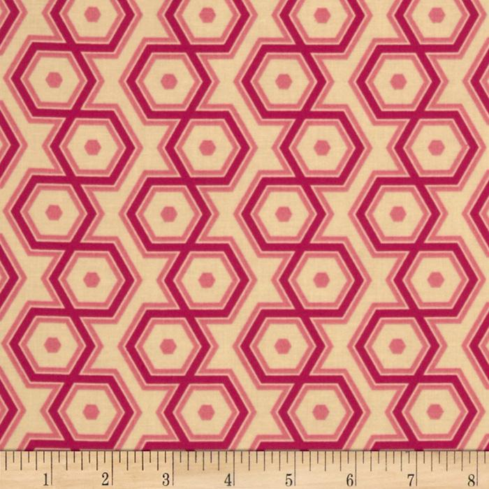 Joel Dewberry Notting Hill Hexagons Magenta