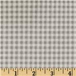 0262747 Baby Business Herringbone Check Light Grey