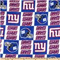 NFL Fleece New York Giants Squares Blue/White