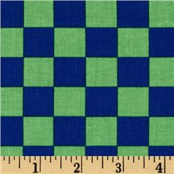 Ace Checkers Green/Blue