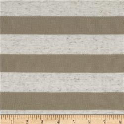Hatchi Knit Stripes Tan/Grey