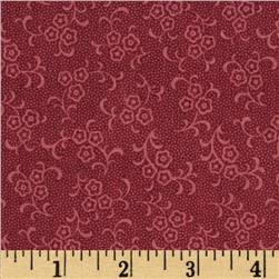 Prairie Home and Companions Small Mono Floral Mauve