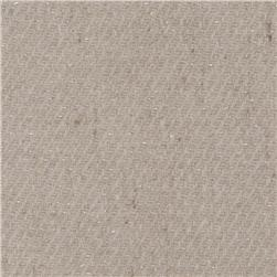 Wool Blend Coating Sparkle Silver/Cream