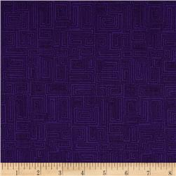 The Color Collection Maze Purple