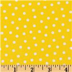 0274231 Gray Matters Polka Dot Yellow