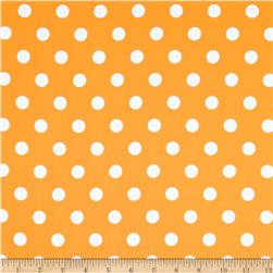 Moda Dottie Medium Dots Yellow