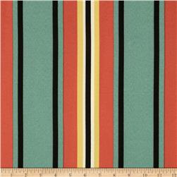 Swavelle/Mill Creek Indoor/Outdoor Trudy Stripe Black Forest