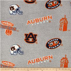 Collegiate Fleece University of Auburn Heather Grey