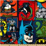 0262646 Batman Fleece Characters Green