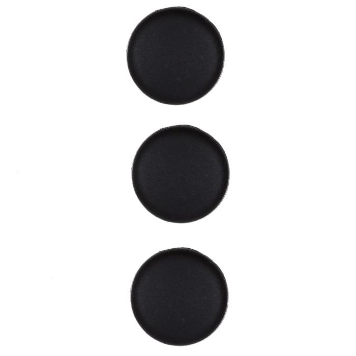 Fashion Button 3/4'' Cumberland Black