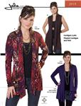 JP-2919 Jalie Pleated Cardigan &amp; Vest Pattern