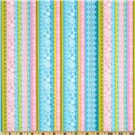 Peggy Sue Stripe Pink/Aqua