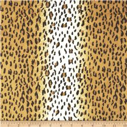 Minky Cuddle Cheetah II Ivory/Brown