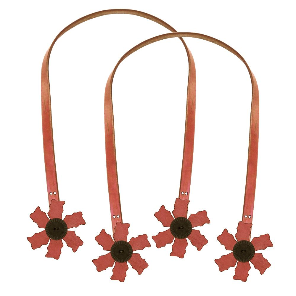 Cindy&#39;s Purse Straps 24&#39;&#39; Flower Pink