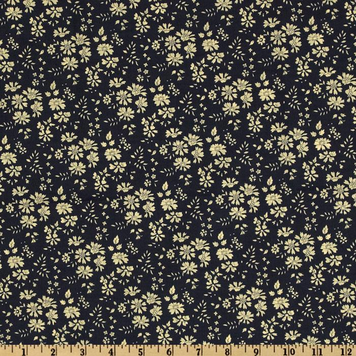 Liberty of London Tana Lawn Capal Navy