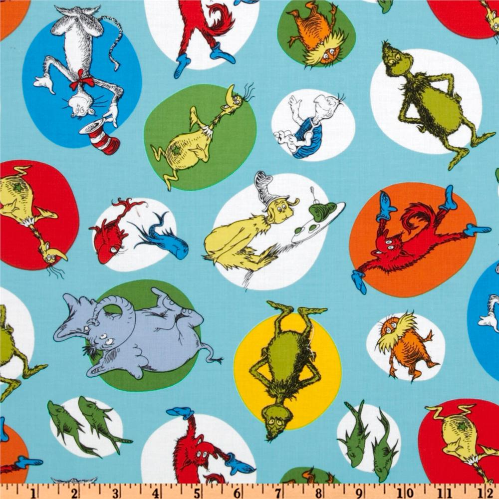 Celebrate Seuss! Flannel Characters Bright