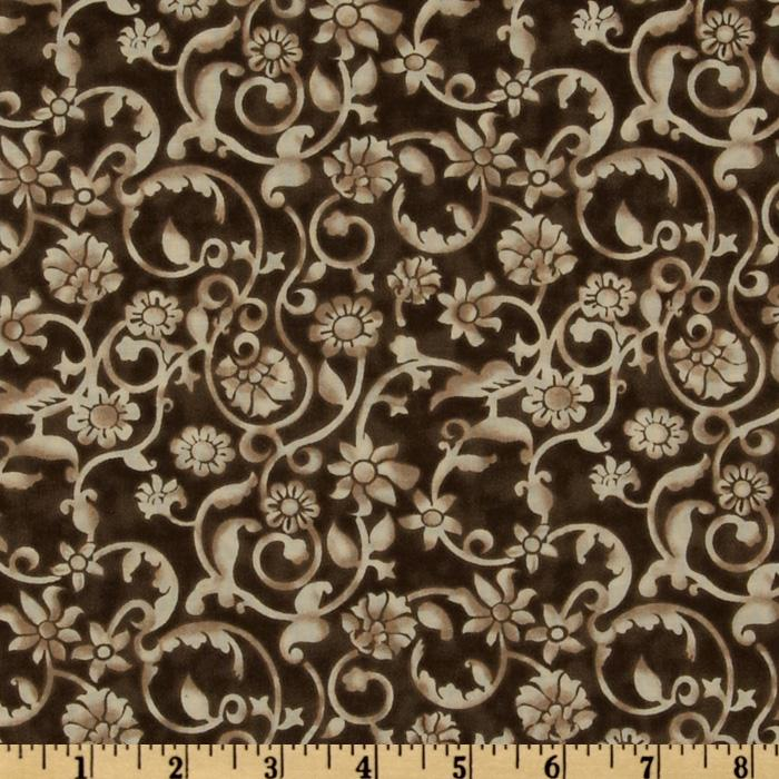Tonal Scroll Brown