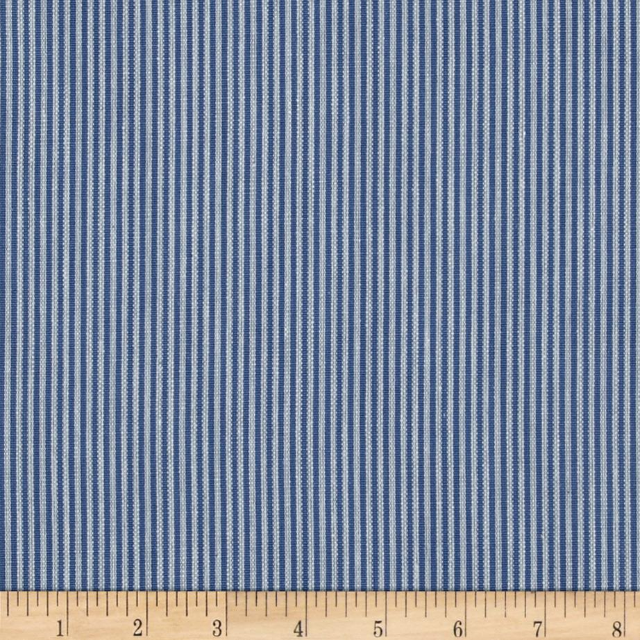 Benartex Home Aegean Stripe Denim Blue/Natural
