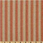 237880 Premier Prints Hayes Stripe Adventurous Red/Denton