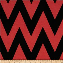 Fashionista Medium Chevron Coral/Black