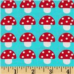 0290073 Woodland Pals Mushroom Party Bermuda