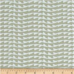 Fairmount Park Metallic Flourish Stripe Gray