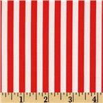 CW-640 Michael Miller Clown Stripe Red