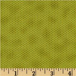 Florence Metallic Mini Mesh Leaf