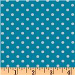 Crazy for Dots &amp; Stripes Dottie Capri Blue
