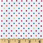 EJ-769 Michael Miller Mini Dot White