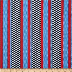 Cabana II Dotted Stripe Navy/Blue