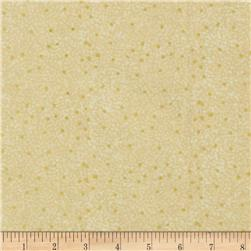 Quilting Treasures Autumn Spendor Metallic Speckle Blender Ecru