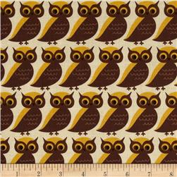 Moda S'More Love Whose Who Owls Marshmallow Cream