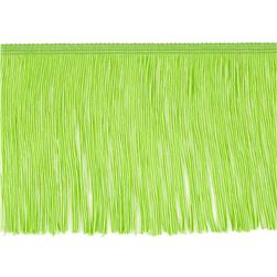 "6"" Chainette Fringe Trim Lime"