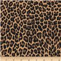 Stretch Bengaline Leopard Brown/Black