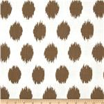 0278233 Premier Prints Jo Jo Slub Italian Brown
