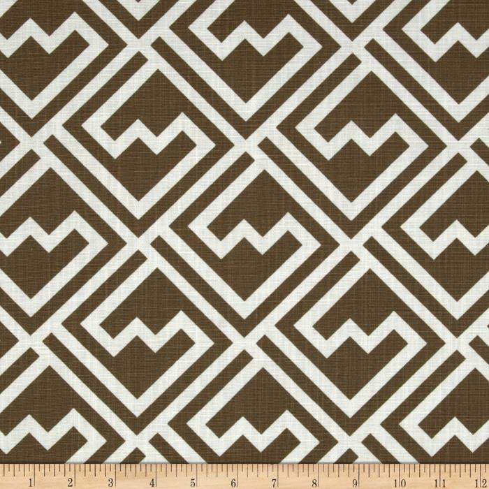Premier Prints Shakes Italian Brown
