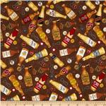 232023 Brewsky Beer Bottles Brown