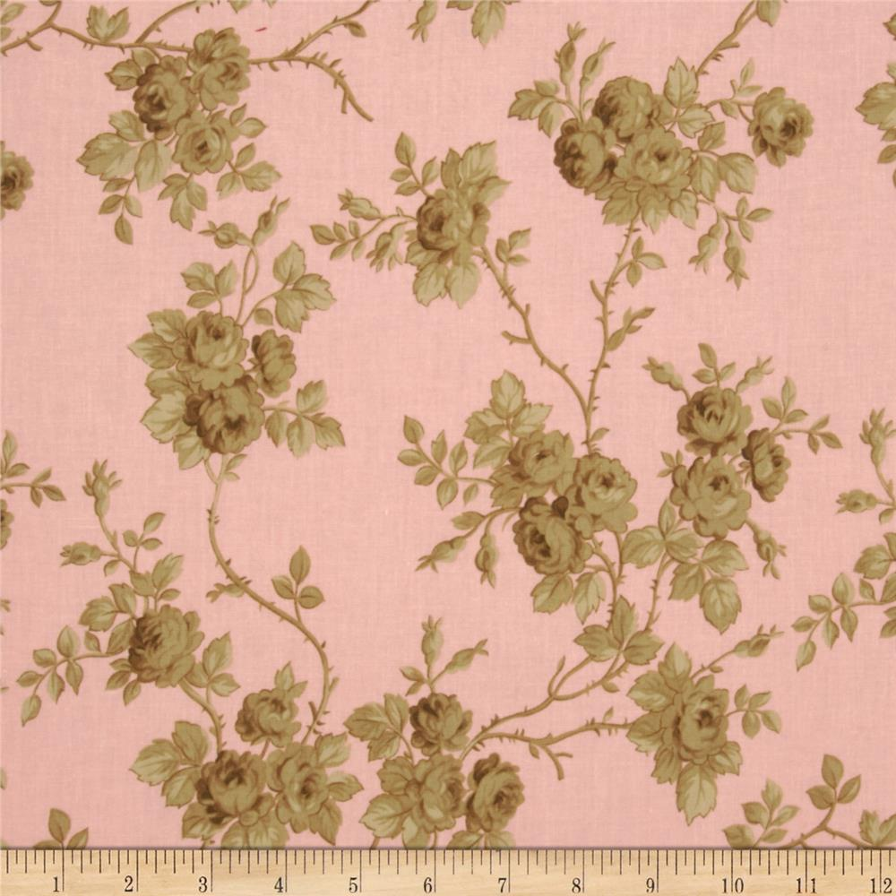 Incense & Peppermints Rose Toile Brown/Pink