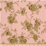Incense &amp; Peppermints Rose Toile Brown/Pink