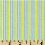 Brights & Pastels Basics Stripe Light Blue/Yellow