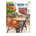 KP-3927 Kwik Sew Wheelchair &amp; Walker Carryaall &amp; Bag (3927) Pattern